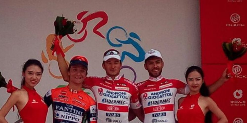NUOVA VITTORIA DI BENFATTO NEL TOUR OF CHINA 2