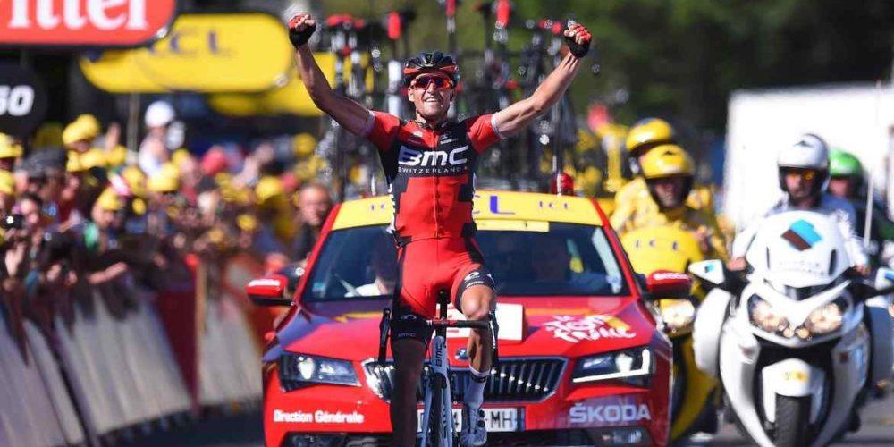 Van Avermaet vince in solitaria la tappa e la Maglia Gialla al Tour De France