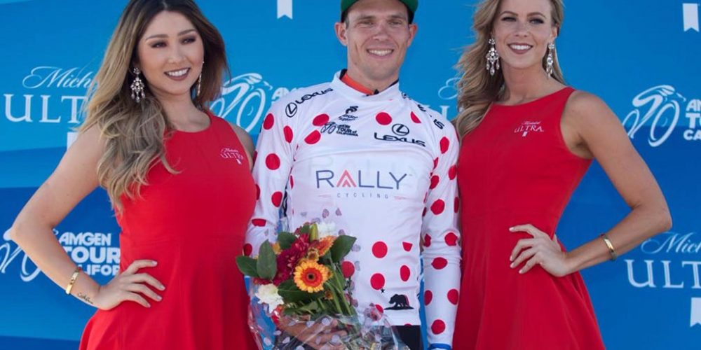 Evan Huffman Second in Stage Two, Takes KOM Jersey at Amgen Tour of California
