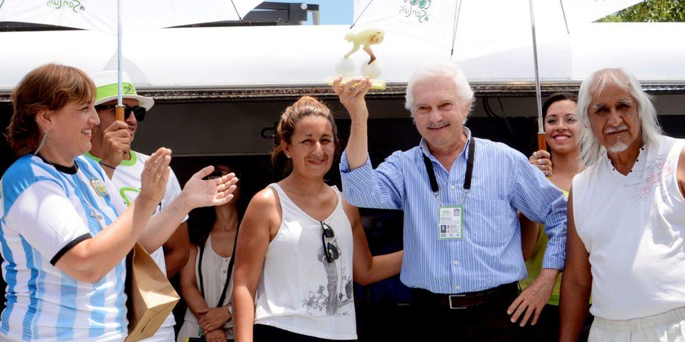 ANDRONI – SIDERMEC, un premio speciale a Gianni Savio sempre presente al Tour De San Luis
