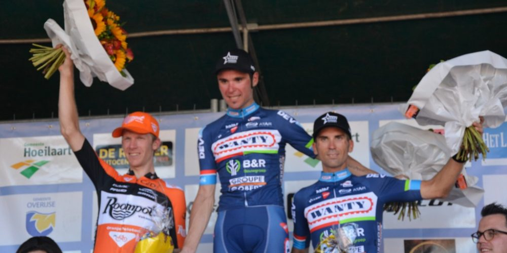 Jérôme Baugnies makes it two in a row in the Druivenkoers