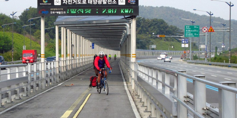 Bikes as cars: here is where you find the bicycle expressways