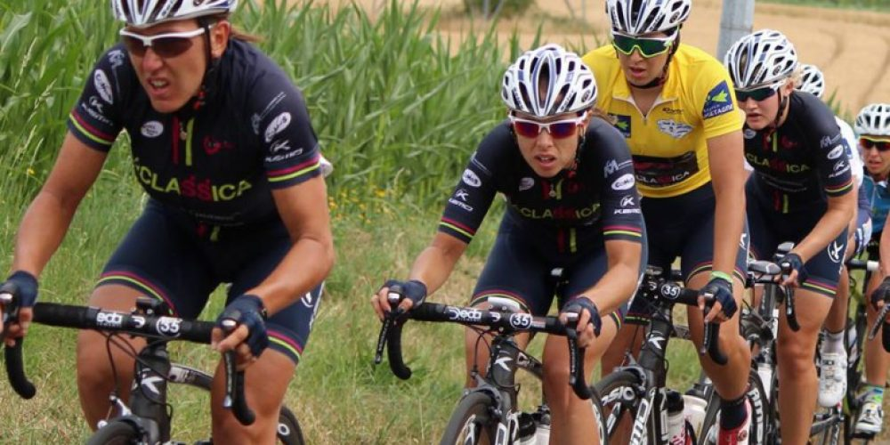 The BePink LaClassica win the Tour de Bretagne Féminin