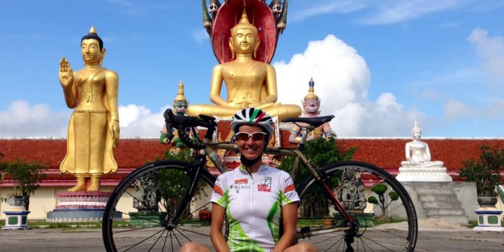 Asia, a huge continent for a great undertaking: the world tour by bicycle