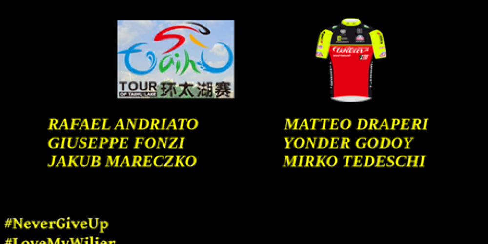 SELEZIONE PER TOUR OF YANCHENG E TOUR OF TAIHU LAKE