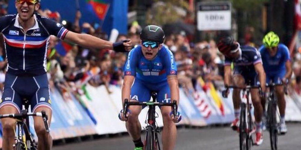 Gli U23 dell'Italia ai Mondiali di Ciclismo Doha 2016