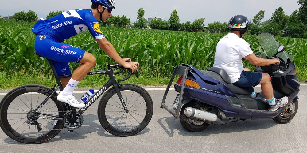 MARTINELLI: MOTORPACING IN ORDER TO COME BACK BRILLIANT