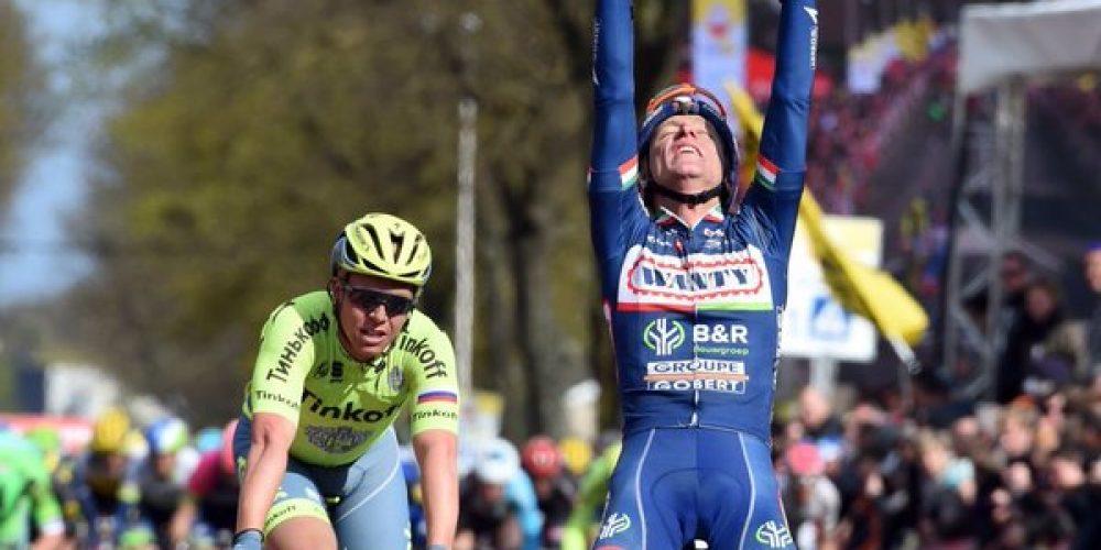 Una vittoria storica per Enrico Gasparotto all'Amstel Gold Race