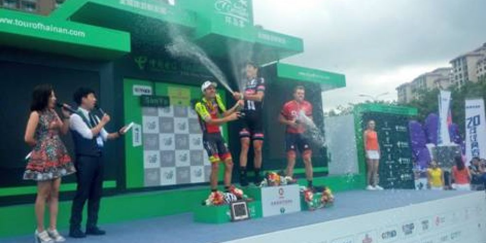TOUR OF HAINAN: THIRD PODIUM FOR RAFAEL ANDRIATO