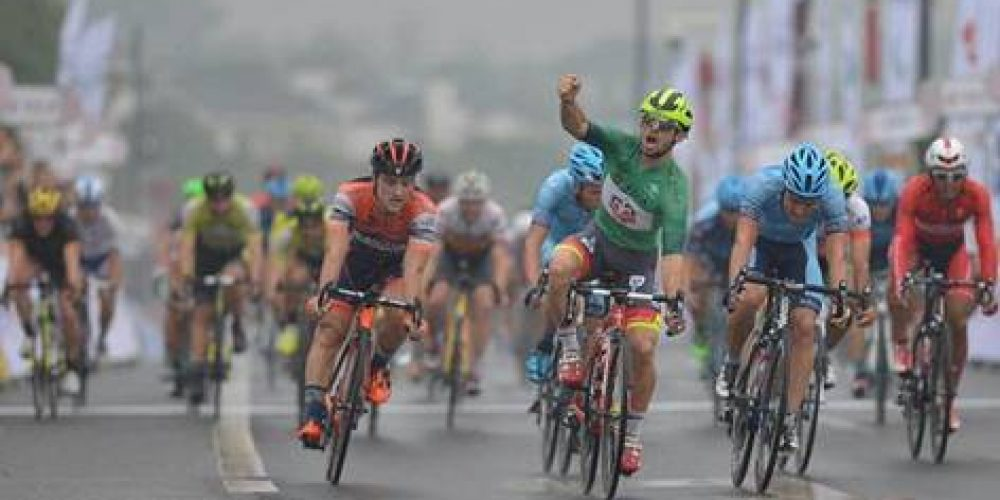 TOUR OF TAIHU LAKE: STAGE AND LEADER'S JERSEY FOR JAKUB MARECZKO