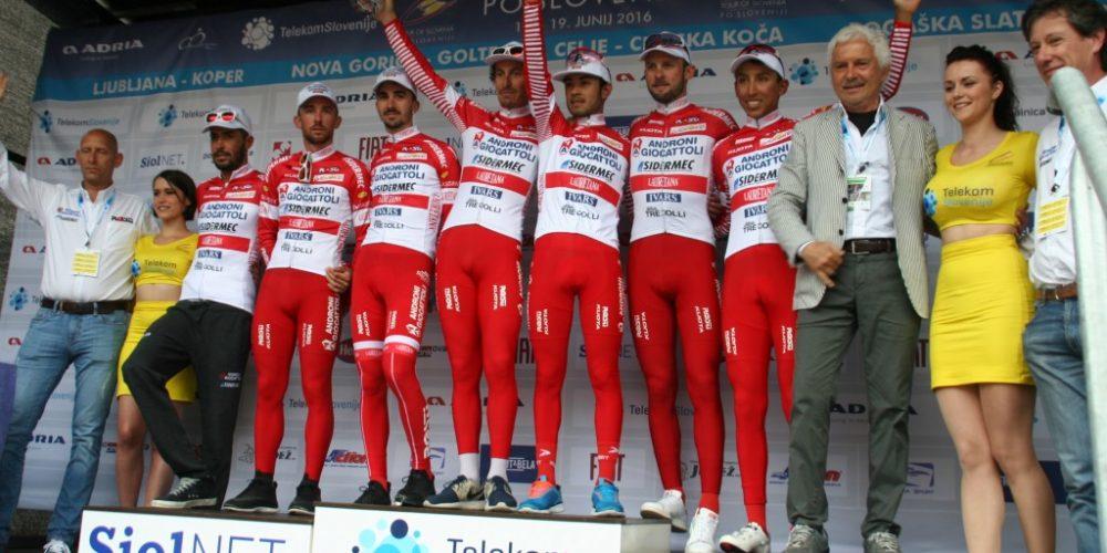 LA ANDRONI SIDERMEC AL SIBIU CYCLING TOUR