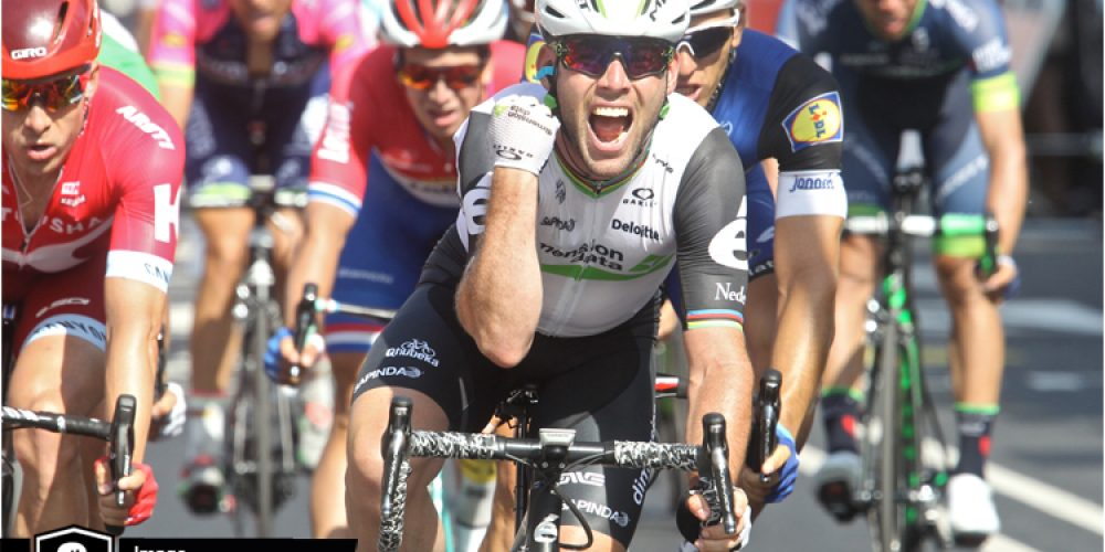 Tour de France #6: Mark Cavendish blasts to 3rd victory for Team Dimension Data for Qhubeka