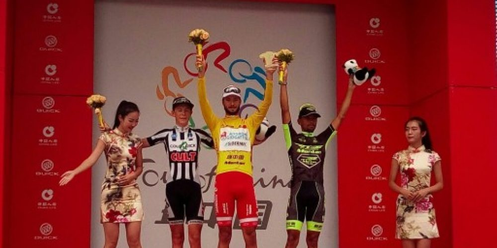 A BONUSI LA GENERALE E A BENFATTO L'ULTIMA TAPPA DEL TOUR OF CHINA