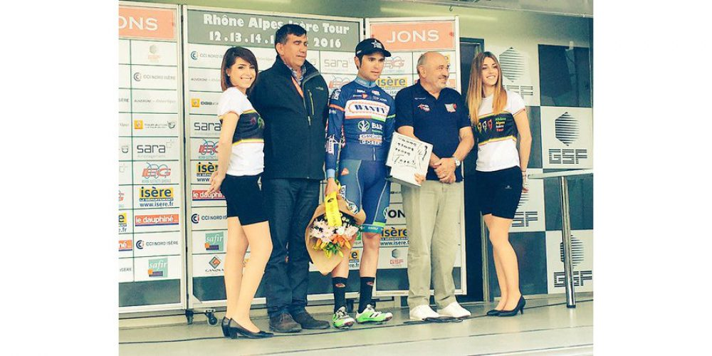 Jérôme Baugnies wins the third stage of the Rhône-Alpes Isère Tour