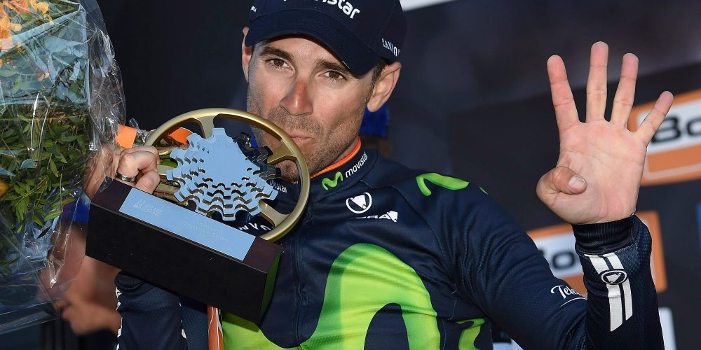 Valverde becomes Mur de Huy's biggest legend