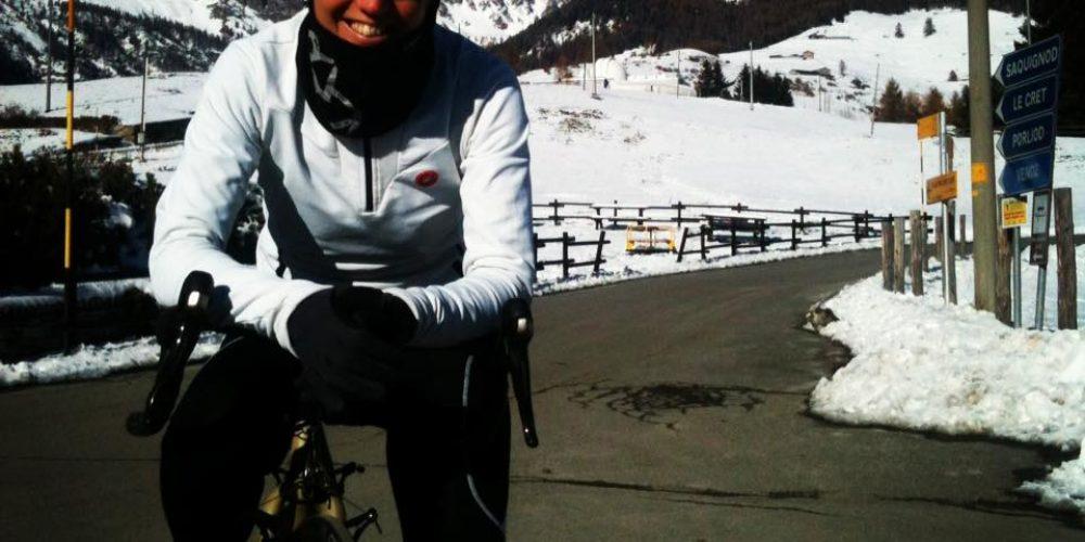 Fino ad Oslo in bicicletta per Bike The Nobel. La nuova impresa di Paola Gianotti