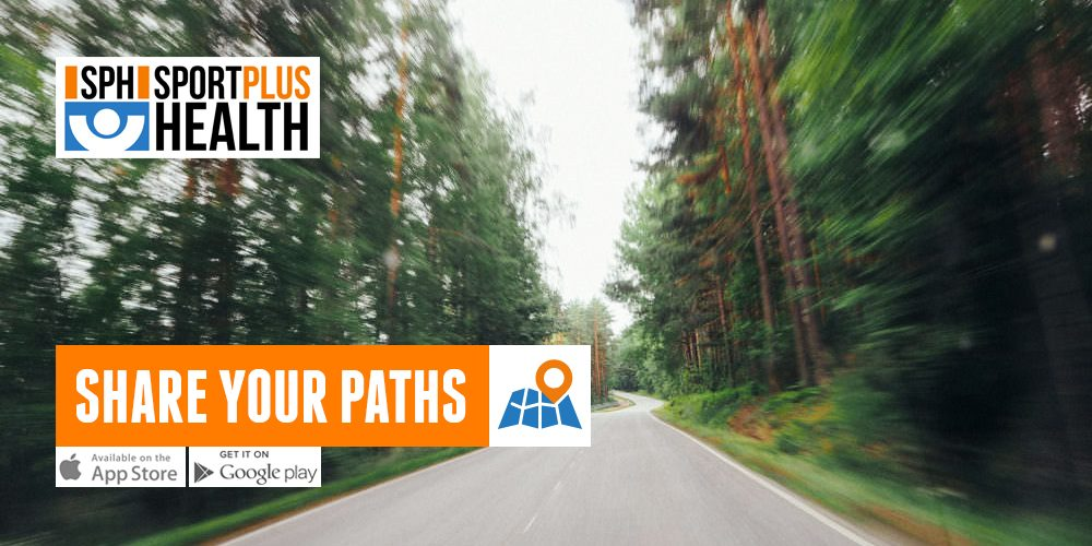 With SPH App you can share your paths. And see the others'.