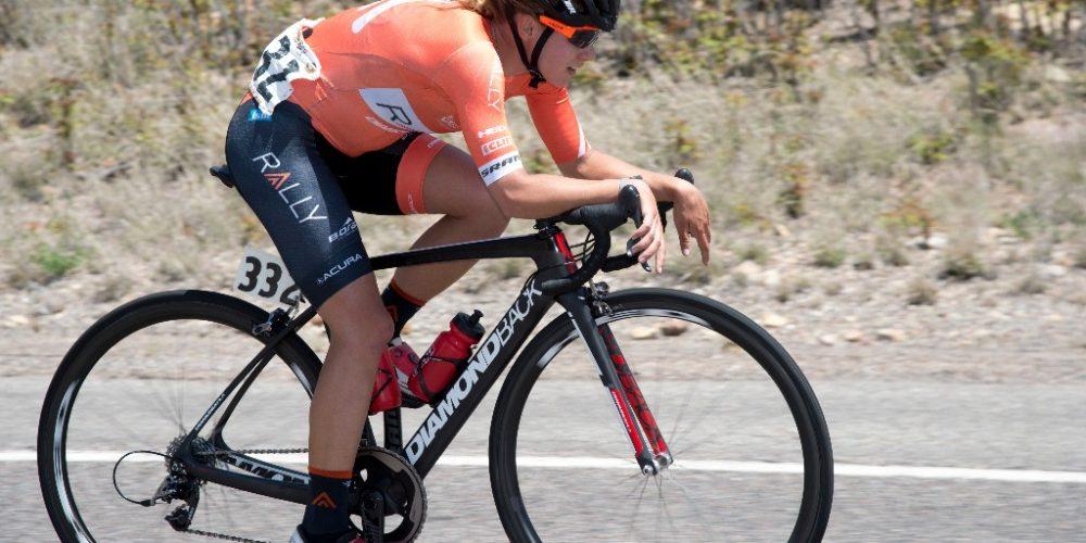 Jasmin Glaesser Vince lo Stage2 del Tour of the Gila
