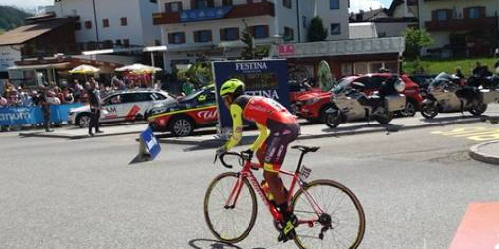 GIRO D'ITALIA: DANIEL FELIPE MARTINEZ 31st IN THE UPHILL TIME TRIAL