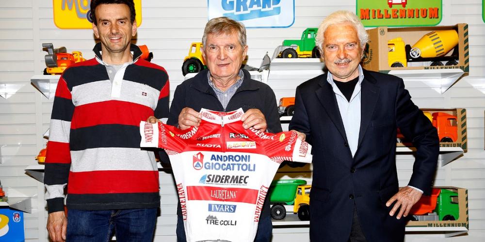 Androni Giocattoli continúa hasta el 2017