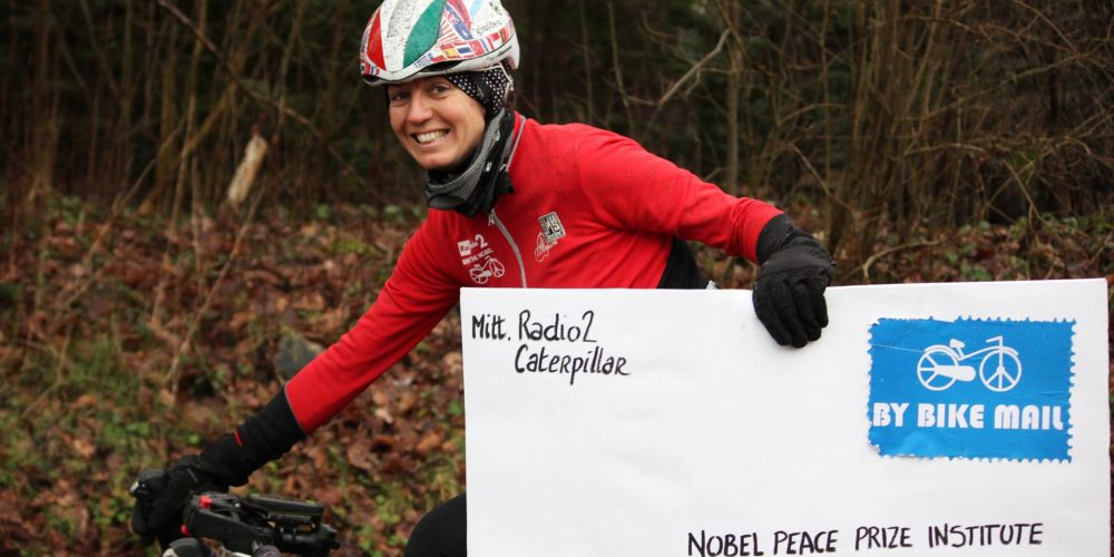 Bike the Nobel: Paola Gianotti tells us about her trip to Oslo