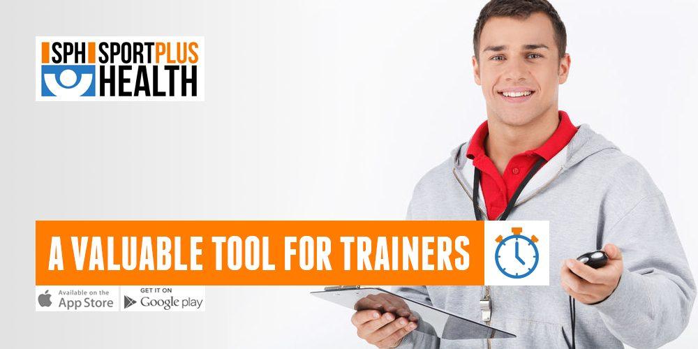 SportPlusHealth por trainer. Un App importante para los entrenadores.