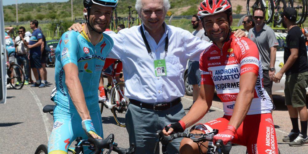 ANDRONI SIDERMEC, a San Luis incontro con l'ex Scarponi