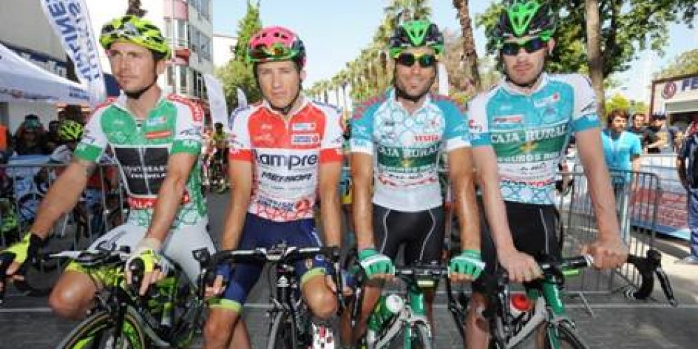 TOUR OF TURKEY: 2ND PLACE AND WHITE JERSEY FOR MANUEL BELLETTI