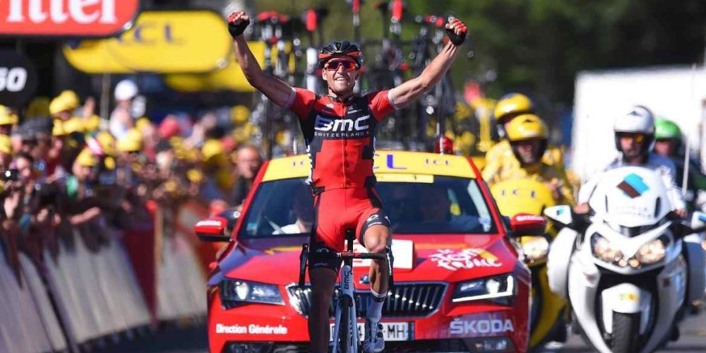 Van Avermaet Solos to Tour de France Stage Win and the Yellow Jersey