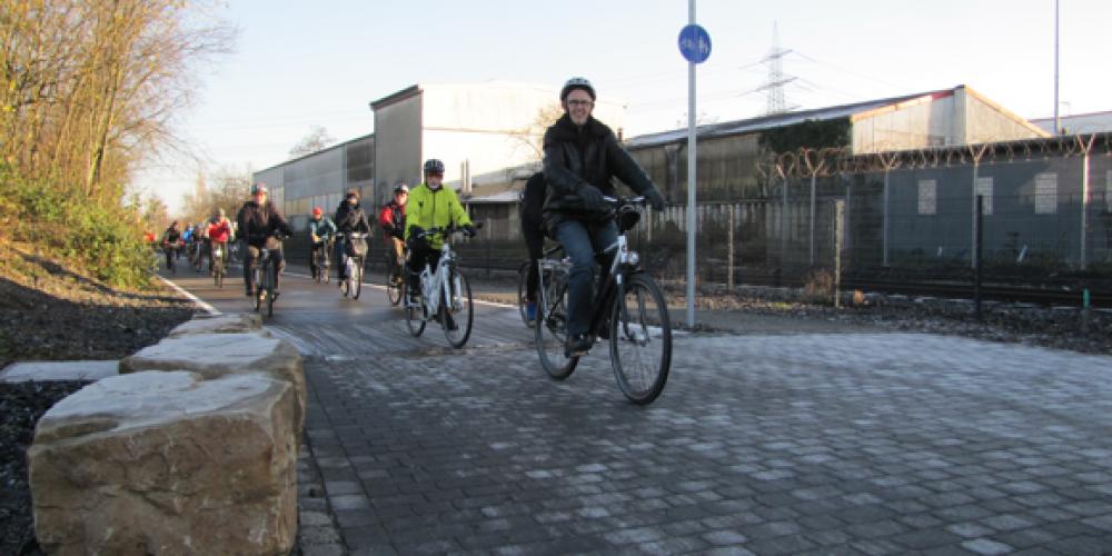 Un'autostrada tutta per le biciclette. In Germania è realtà