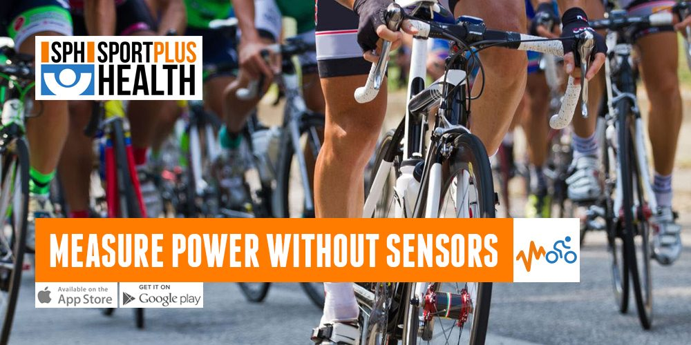 To measure power without sensors is possible if you have the right App!